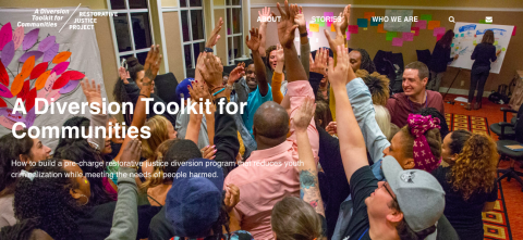 Go to RJDToolkit.org: A Diversion Toolkit for Communities